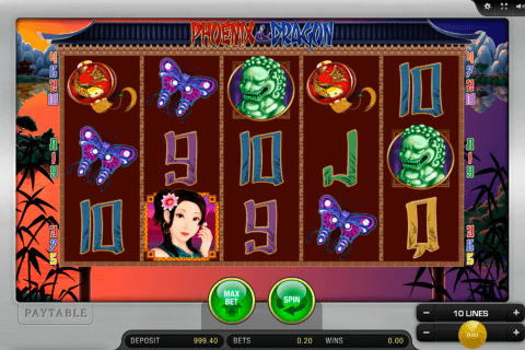 phoeni and dragon merkur slot