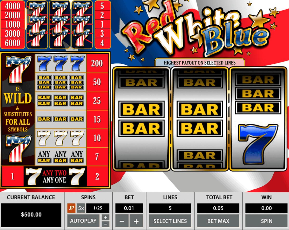 red white blue pragmatic slot