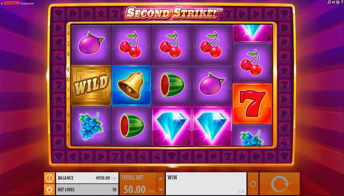 second strike quickspin slot