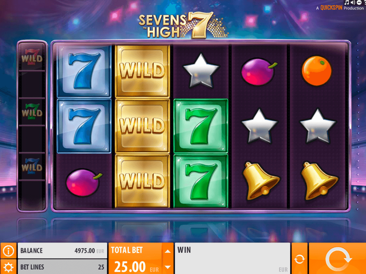 sevens high quickspin slot