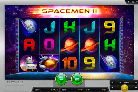 spacemen ii merkur slot