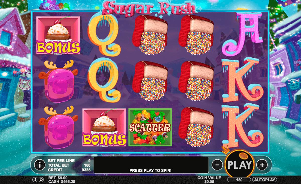 sugar rush winter pragmatic slot