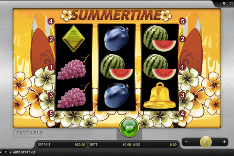 summertime merkur slot