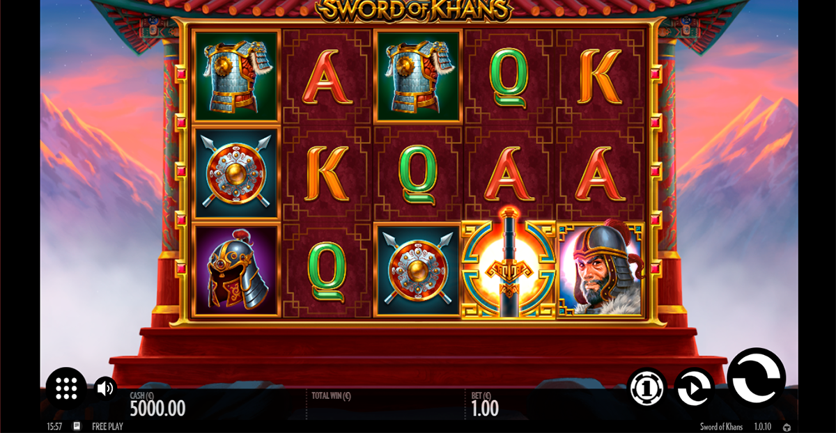 sword of khans thunderkick slot