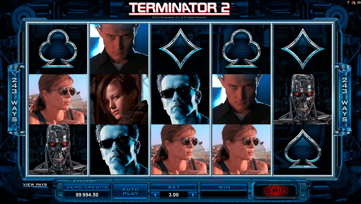 terminator 2 microgaming slot