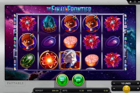 the final frontier merkur slot