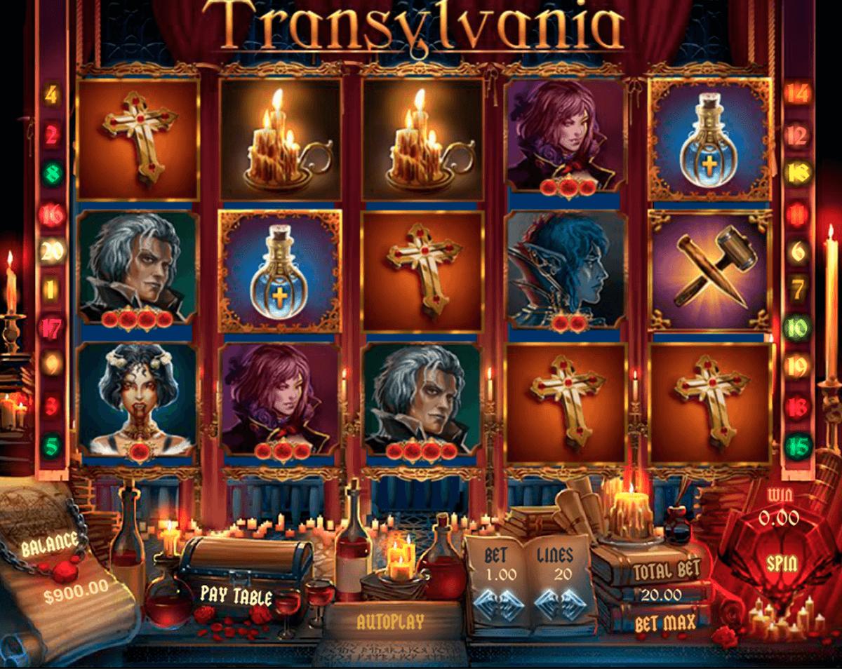 transylvania pragmatic slot
