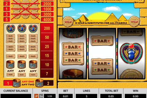 treasures of the pharaohs pragmatic slot