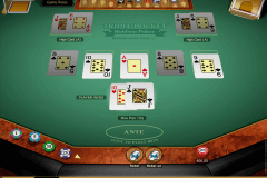 triple pocket holdem poker microgaming