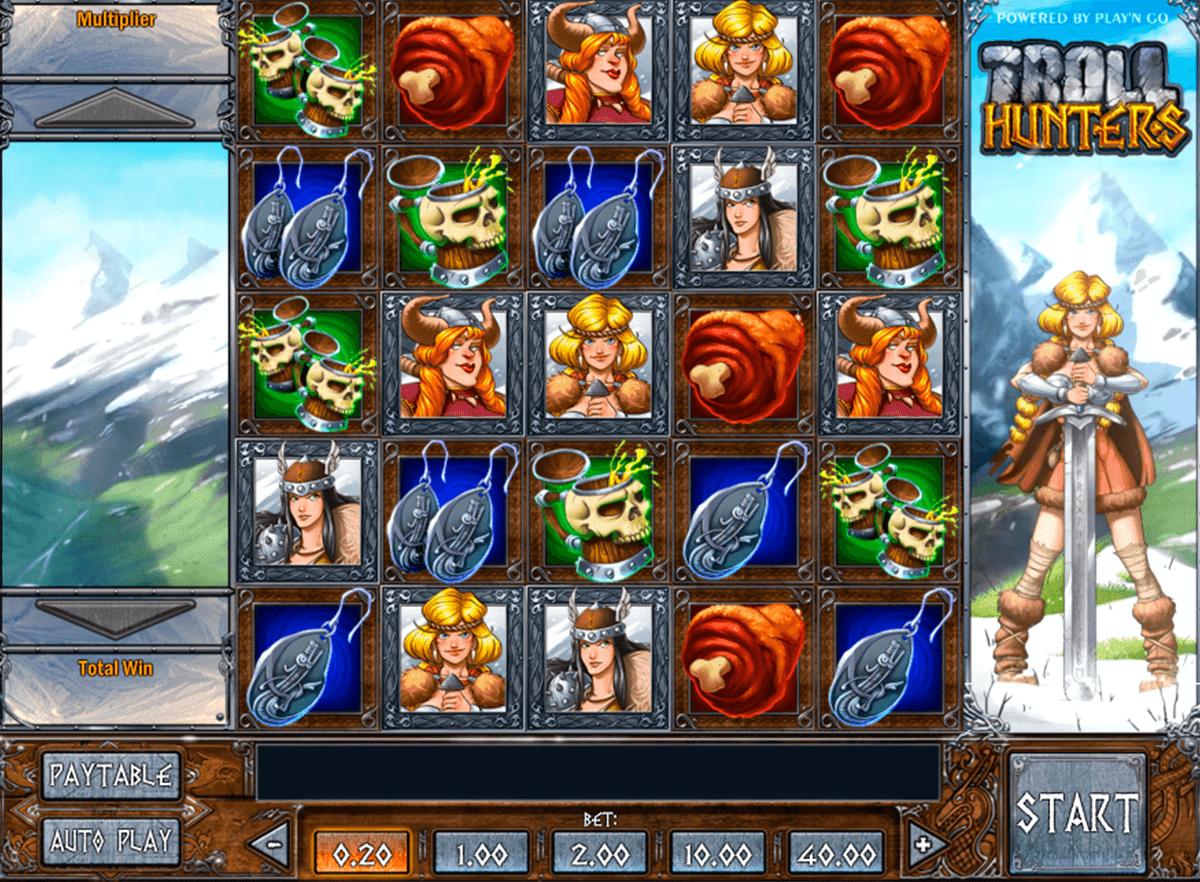 Troll hunters spilleautomat