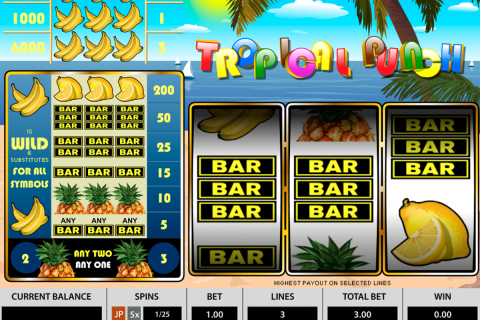 tropical punch pragmatic slot