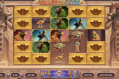 valley of the gods yggdrasil slot