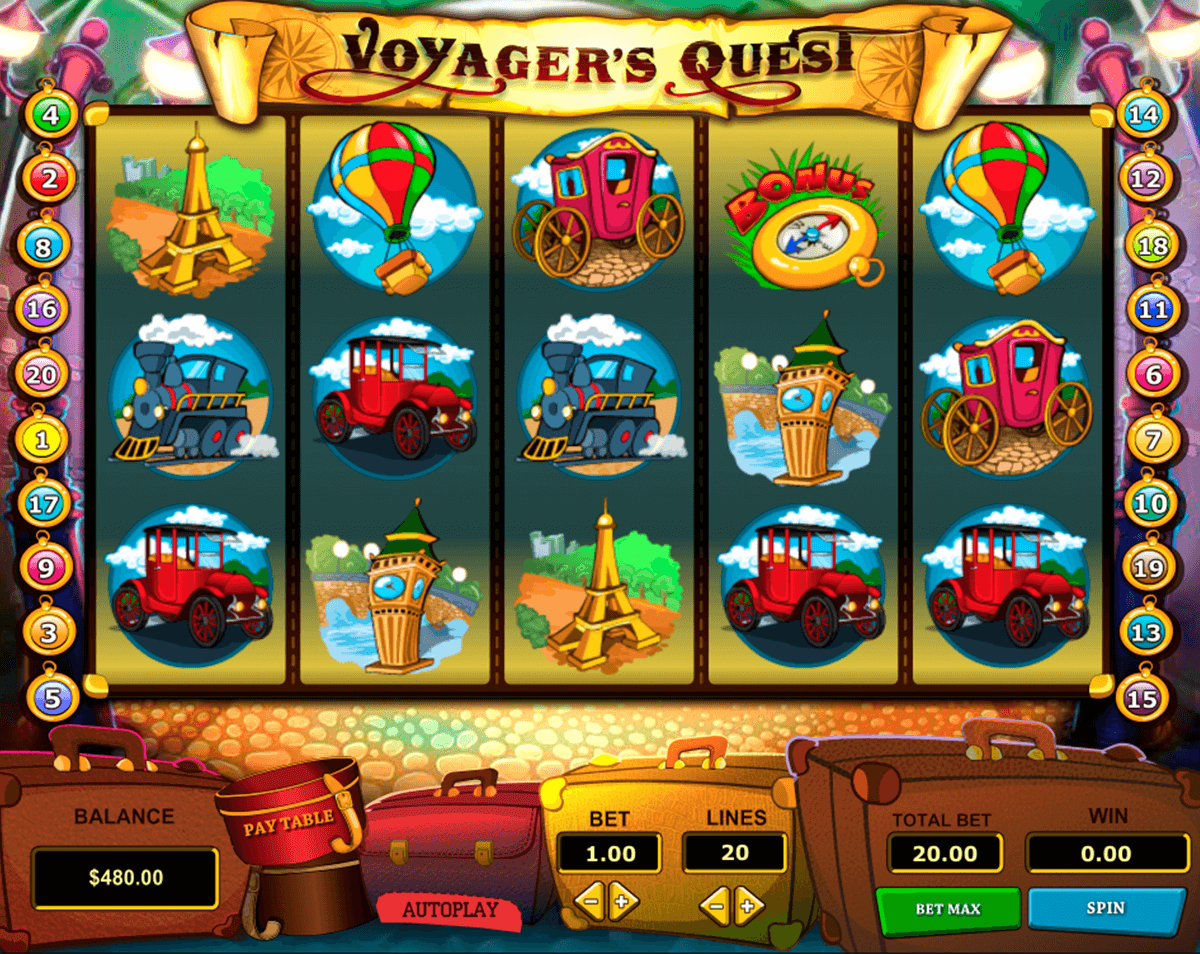 voyagers quest pragmatic slot