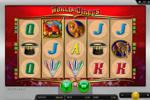 world of circus merkur slot