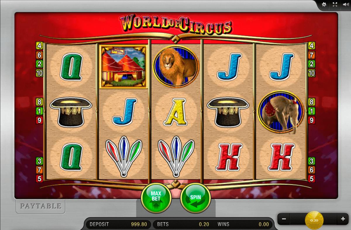world of circus merkur slot