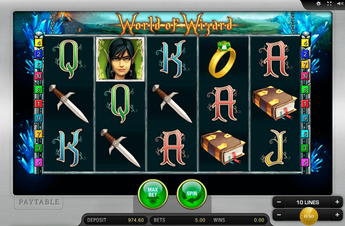 world of wizard merkur slot